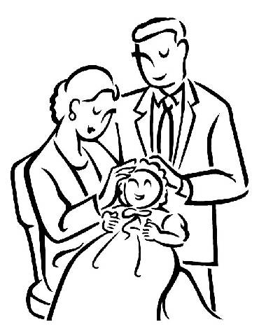 family theme preschool coloring pages - photo#5