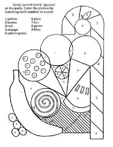 Preschool Coloring Pages on Preschool Shapes Coloring Pages