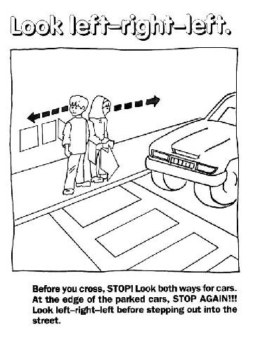 Printables Pedestrian Safety Worksheets pedestrian safety worksheets abitlikethis view full size image pdf version version
